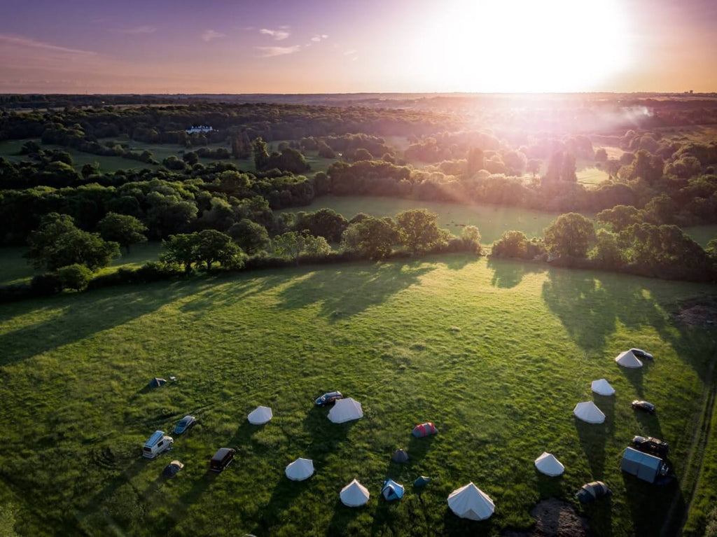 Glamping Site With Bell Tent Sussex