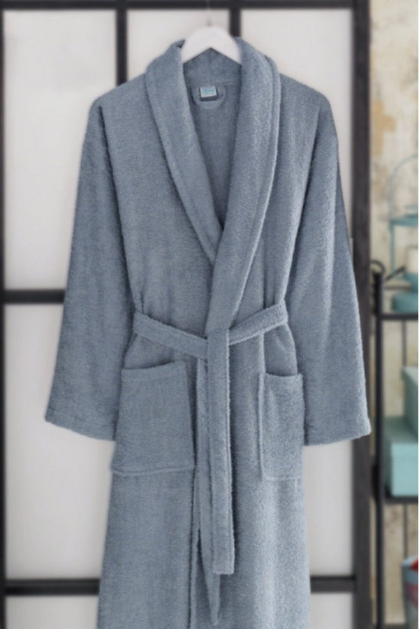 Slipper Towel Bathrobe Set