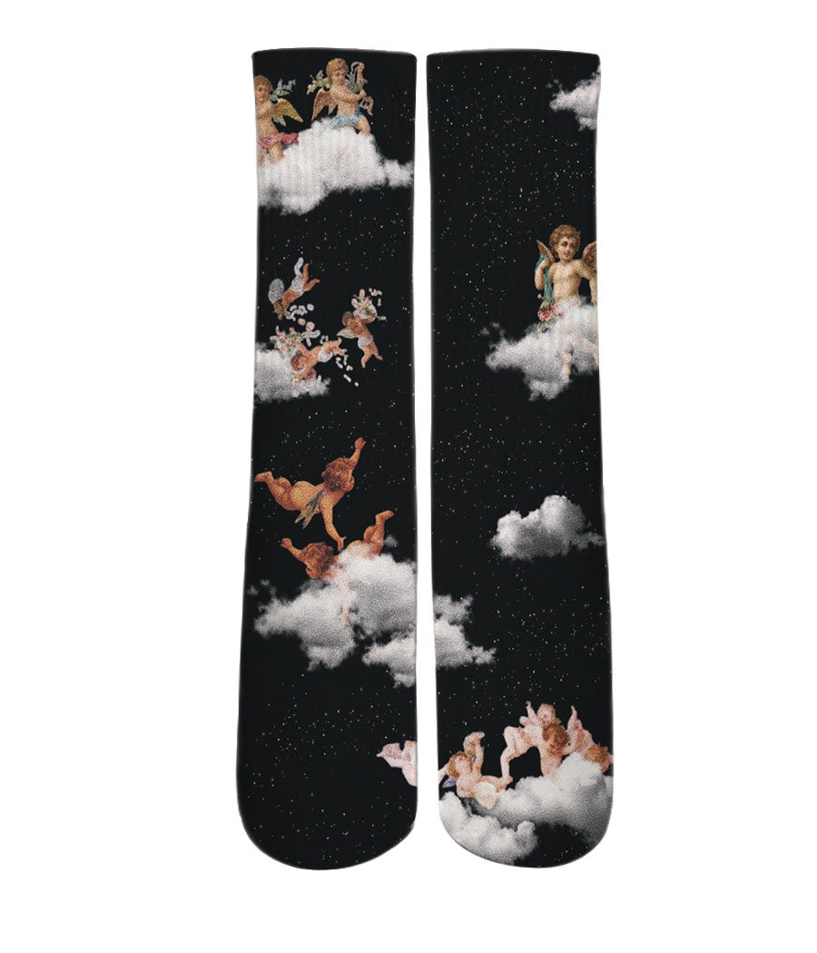 Cool socks-Angels from heaven design