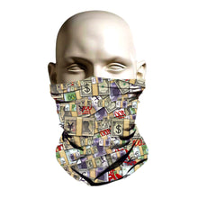 Load image into Gallery viewer, Face Mask - Emoji Money Pattern design