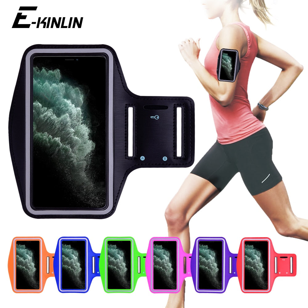 Running Holder For iPhone 11 11 Pro 11 Pro Max Waterproof Sports Gym Armband