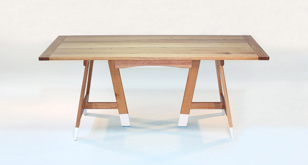 Le:Six Trestle Table Debut