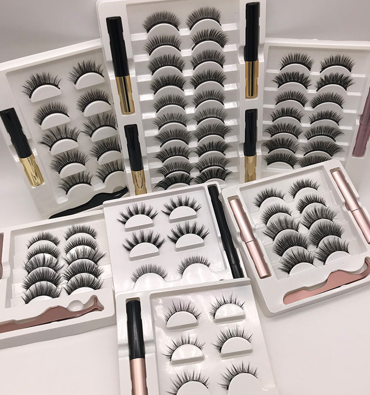 10 Pc Magnetic Lashes Retail MagsXmi
