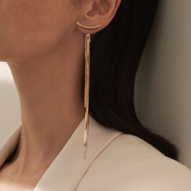 ''Fiona'' - Tassel Drop Earrings