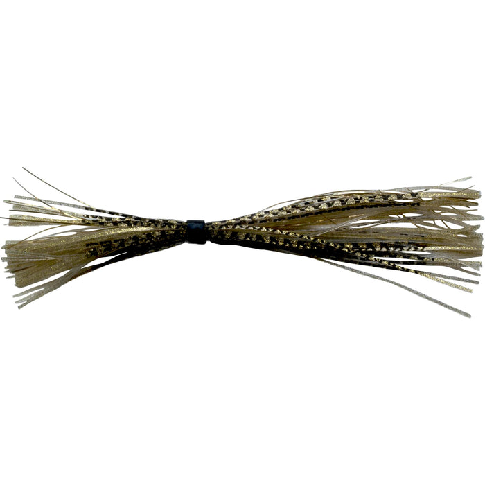 Banded Silicone Spinnerbait Skirts-Gold Fishscale