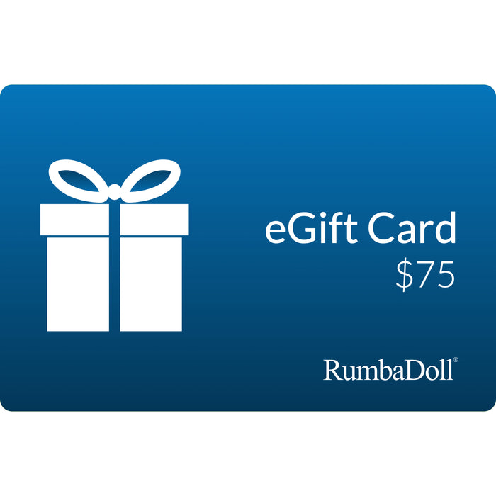 Rumba Doll eGift Card $75