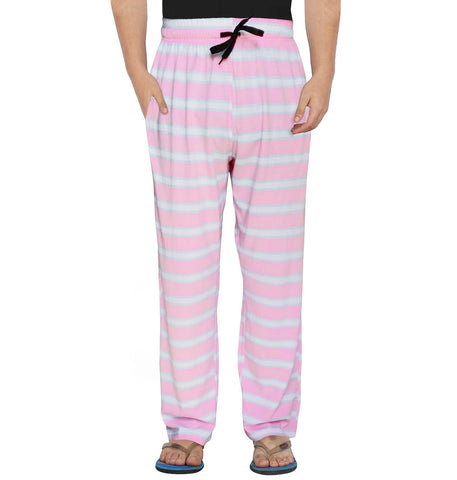White Striped Pink Pyjama
