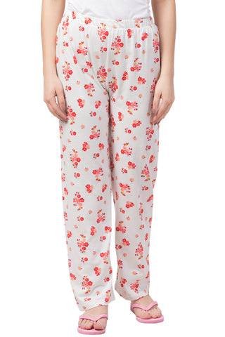 Red Intricate Floral Pyjama