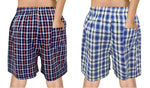 Premium Mens Boxer Combo Blue & Black