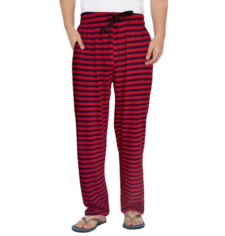 Black Striped Red Pyjama