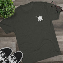 Load image into Gallery viewer, Blackbeard Donut Tri-Blend Crew Tee