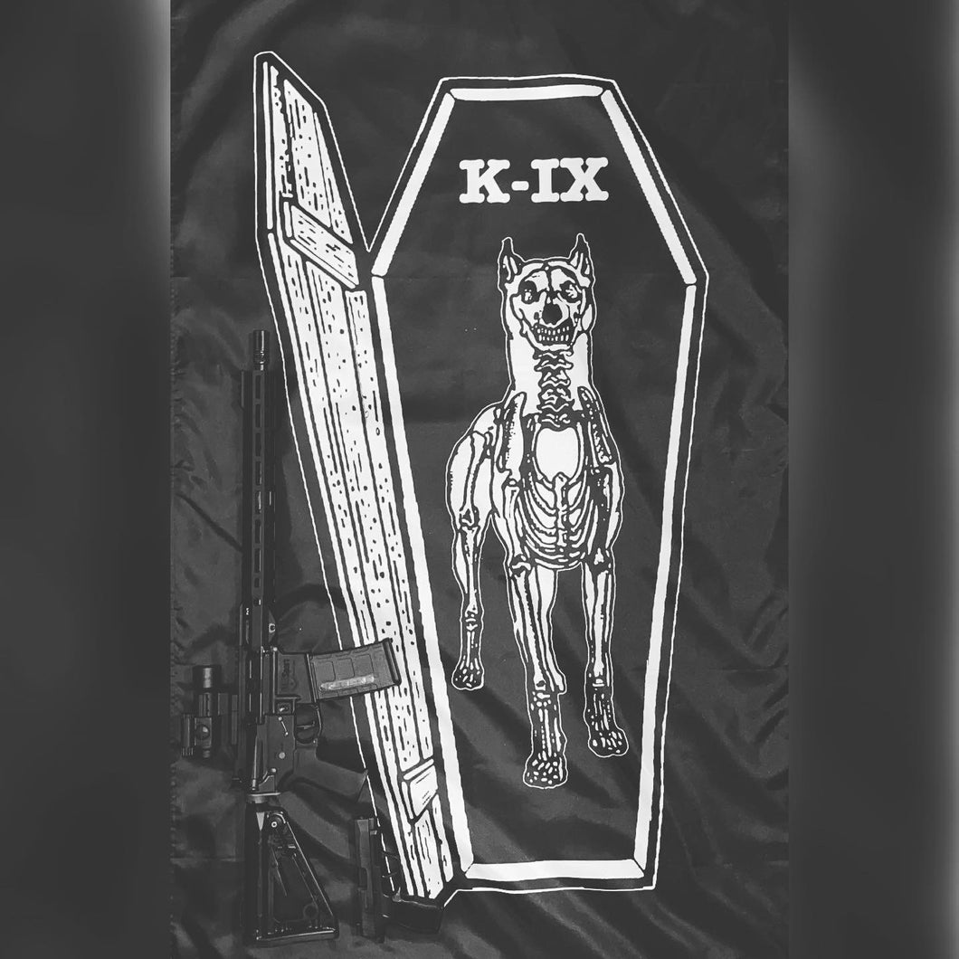 K-IX Til the Casket Drops Flag