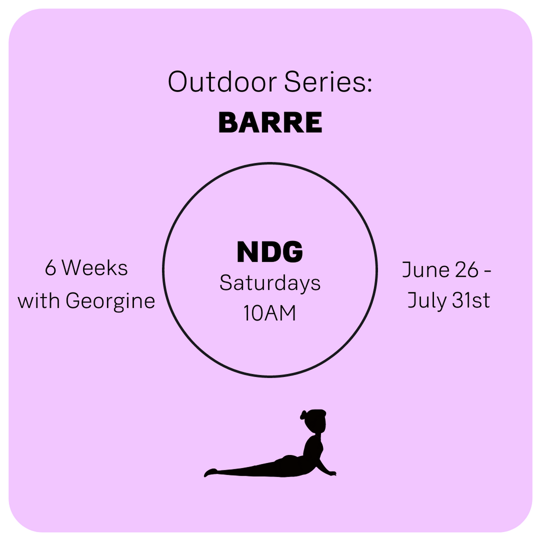 NDG Outdoors: PILATES SATURDAYS 10AM: May 8 - June11