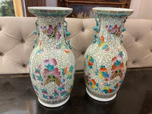 Load image into Gallery viewer, Pair of Asian Vases