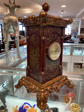 Load image into Gallery viewer, Ornate Mantle Clock
