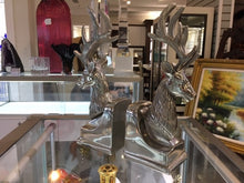 Load image into Gallery viewer, Pewter Reindeer Bookends