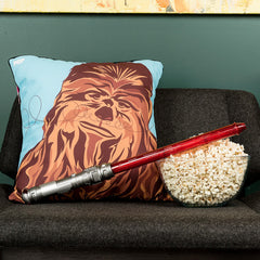 Wookie Mojo cushion featuring Chewbacca
