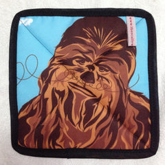 Wookie Mojo Pot Holder from The Scallywag Society featuring Chewbacca by PopHeavy