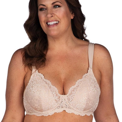 LEADING LADY - 5044 - Scalloped Lace Underwired Bra