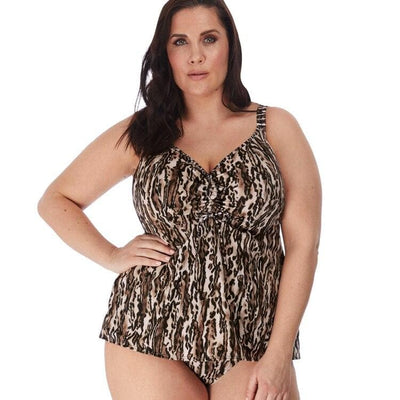 ELOMI SWIM - 7201BL - Fierce Black Moulded Tankini