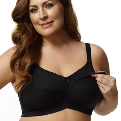 ELILA - 1613 - Cotton Cup Wire Free Nursing Bra