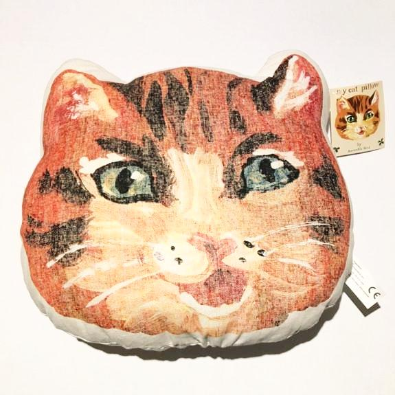 Nathalie Lete My Cat pillow