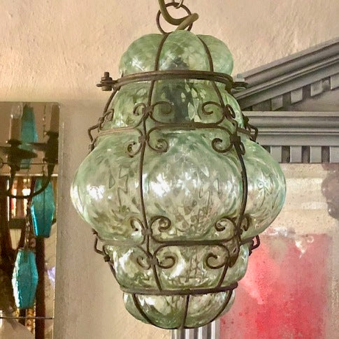 1950's Italian Murano glass light - small