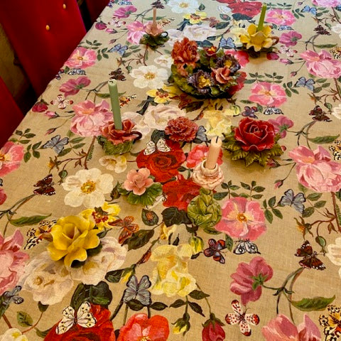 Nathalie Lete Roses Tablecloth