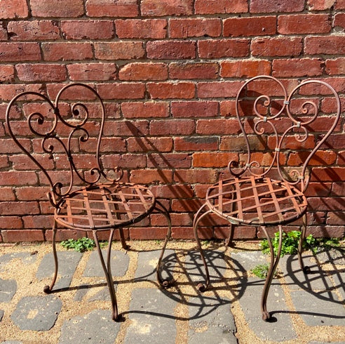 Vintage Iron chair
