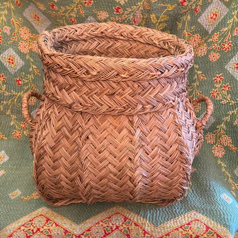 Spanish Artisan Basket