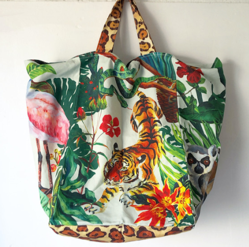 Nathalie Lete Jungle Market bag