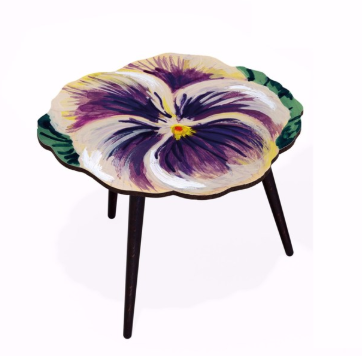 Nathalie Lete French Bouquet Side Table M