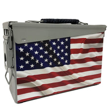 "Load image into Gallery viewer, American Flag ""PRISTINE"" Custom Ammo Can"