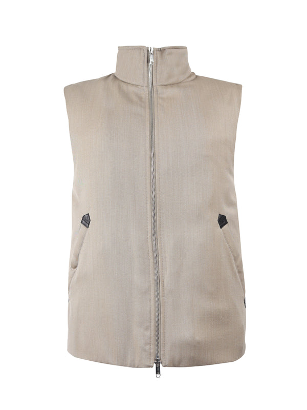 Wheat Padded Gilet