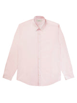 Cotton Poplin Vertical Lining Shirt