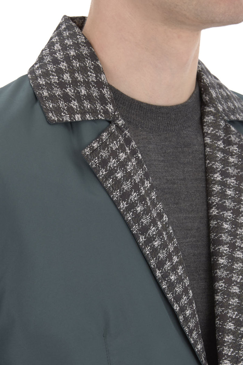 Polyester Check Lining Jacket