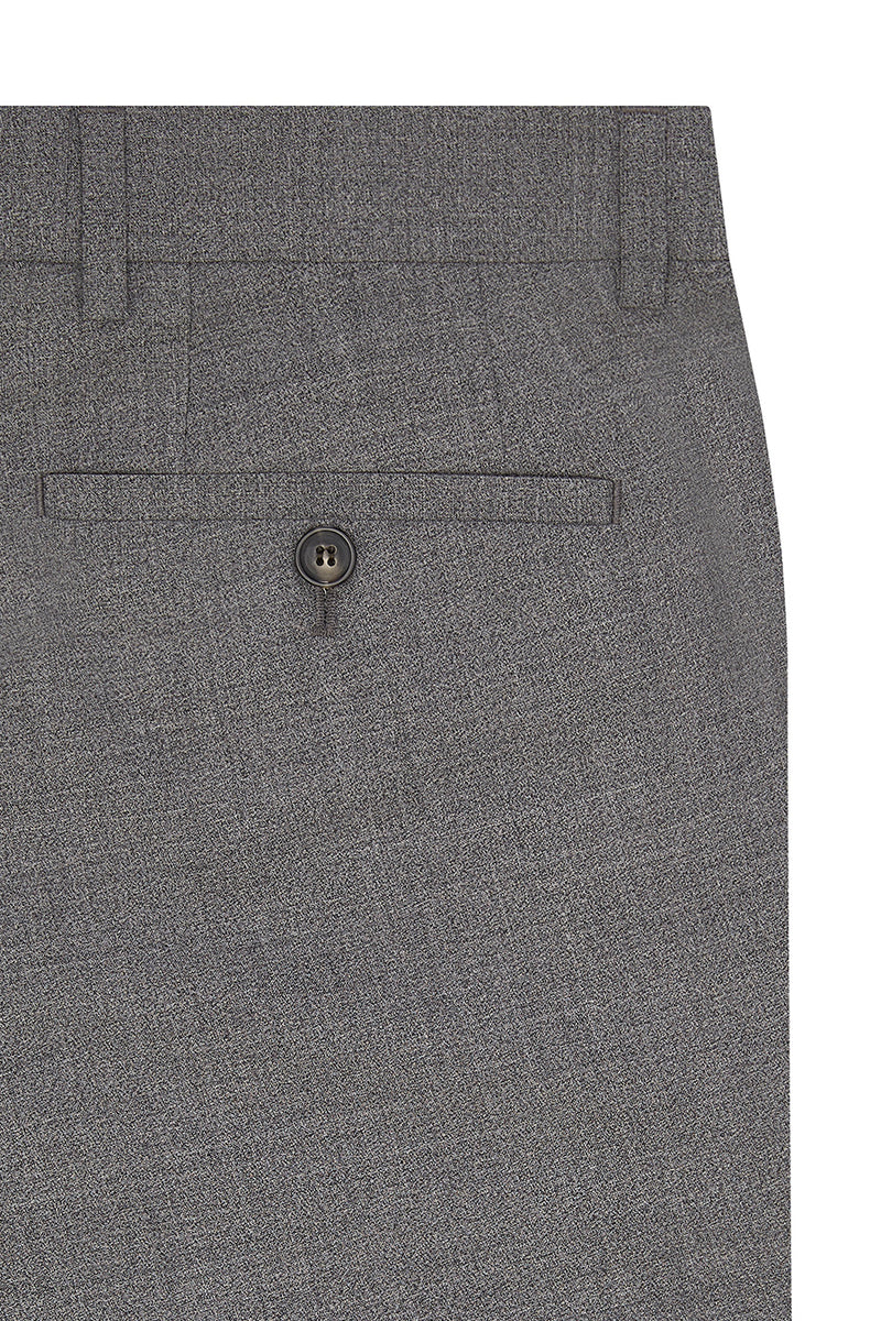 Virgin Wool Melange Dress Pants