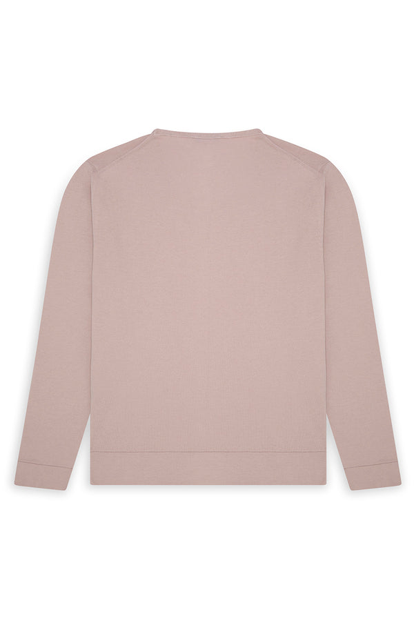 Silk Blend U-Neck Sweater