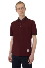 Two-Toned Contrast Polo