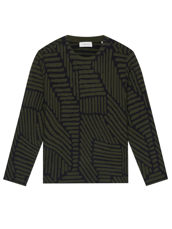 Geometric-Pattern Jumper