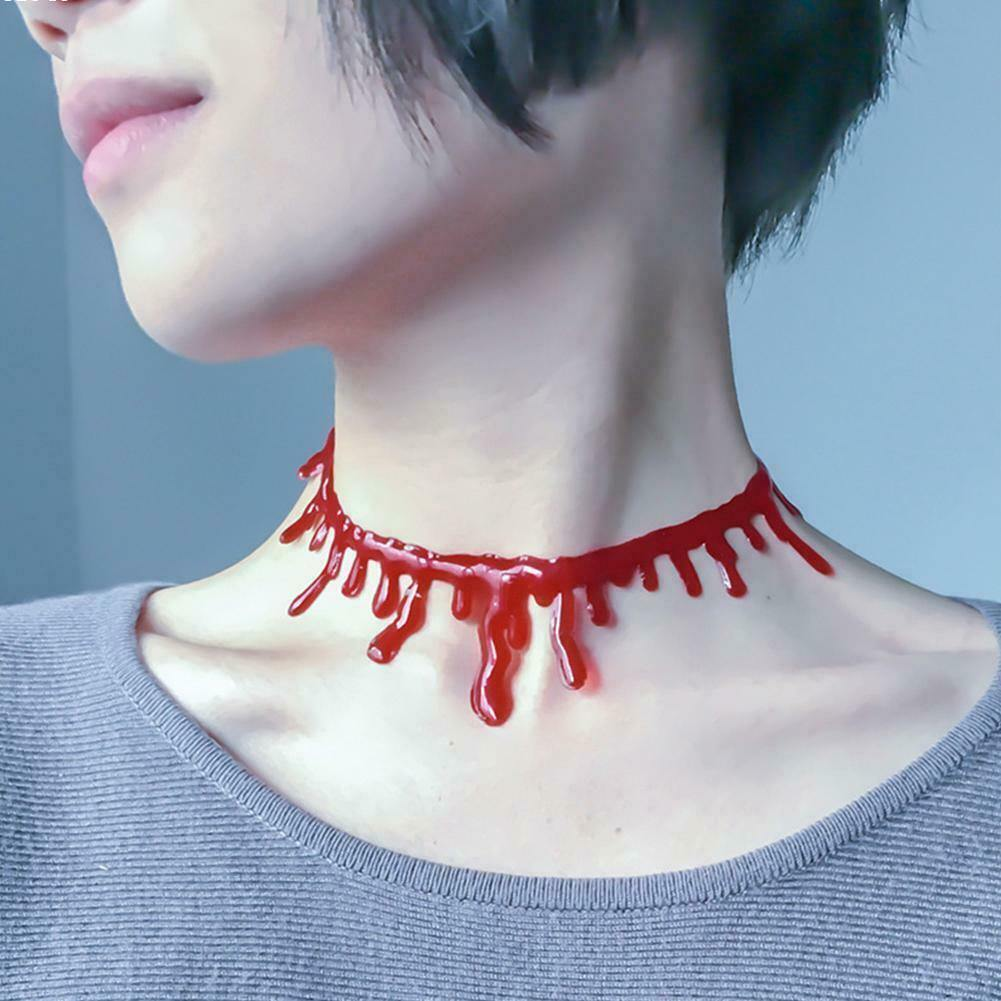 Blood Necklace for Halloween by  Direct Savings Online