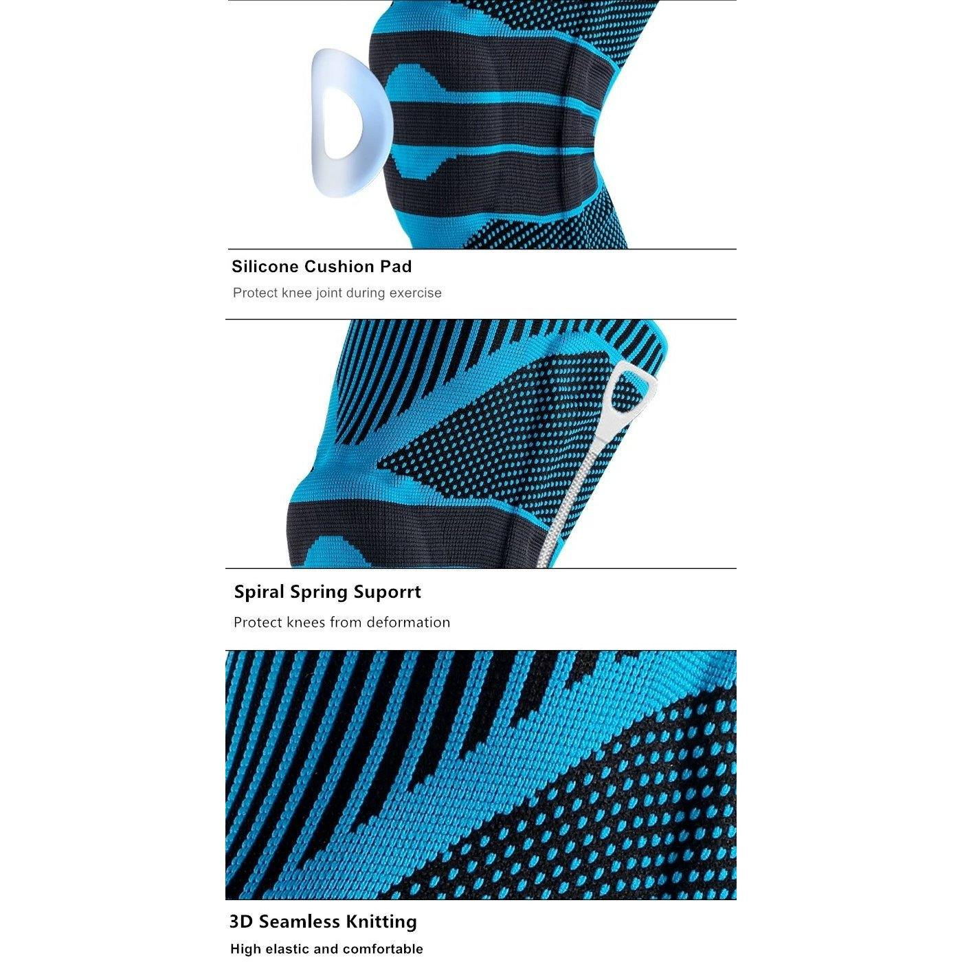 Knee Support Compression Sleeve by  Direct Savings Online
