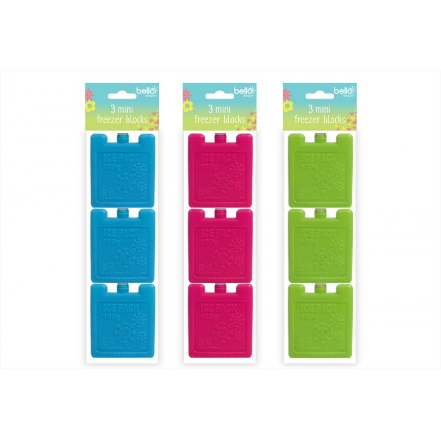 3 Bello Ice Packs by  Direct Savings Online