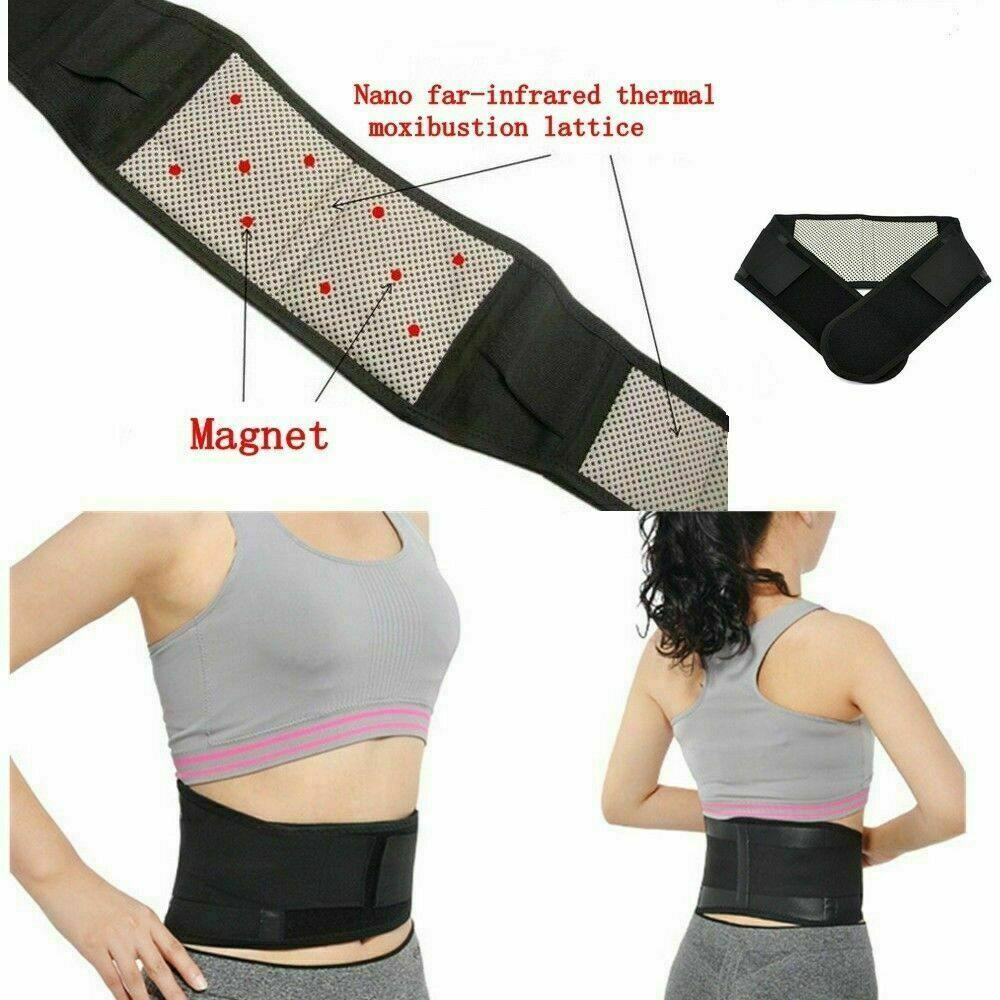 Self Heating Magnetic Back Pain Support by  Direct Savings Online
