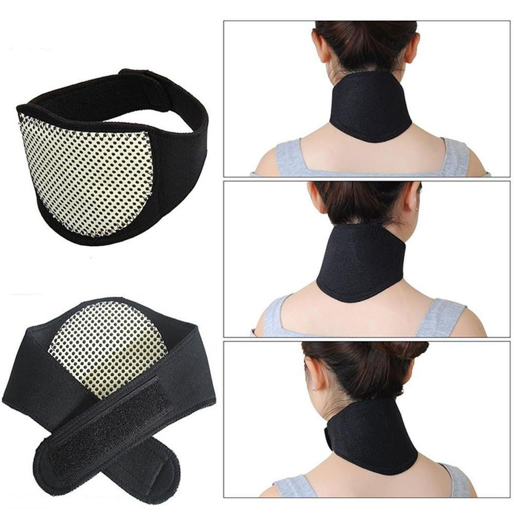 Self Heating Magnetic Neck Support by  Direct Savings Online