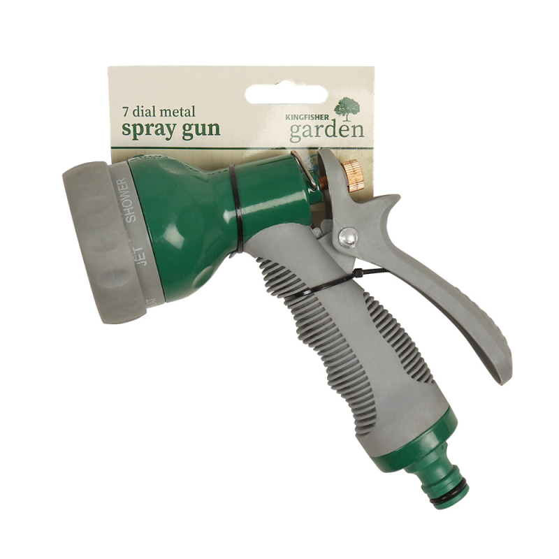 Kingfisher 7 Dial Metal Heavy Duty Spray Gun by  Direct Savings Online