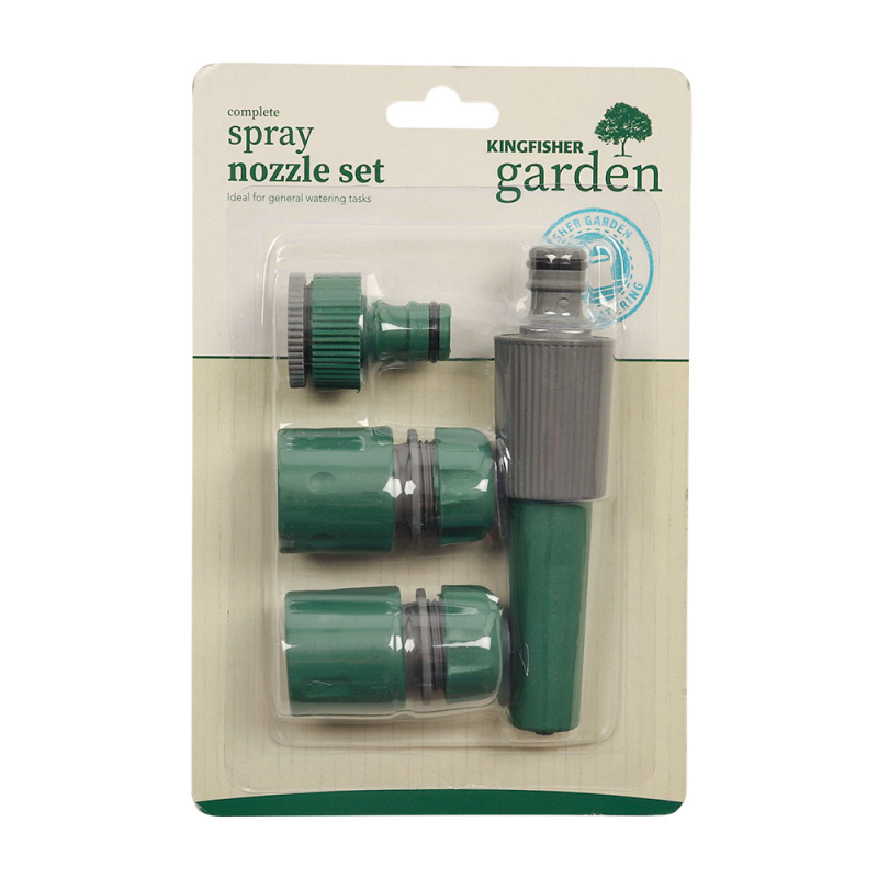 Kingfisher Garden Spray & Nozzle Set by  Direct Savings Online