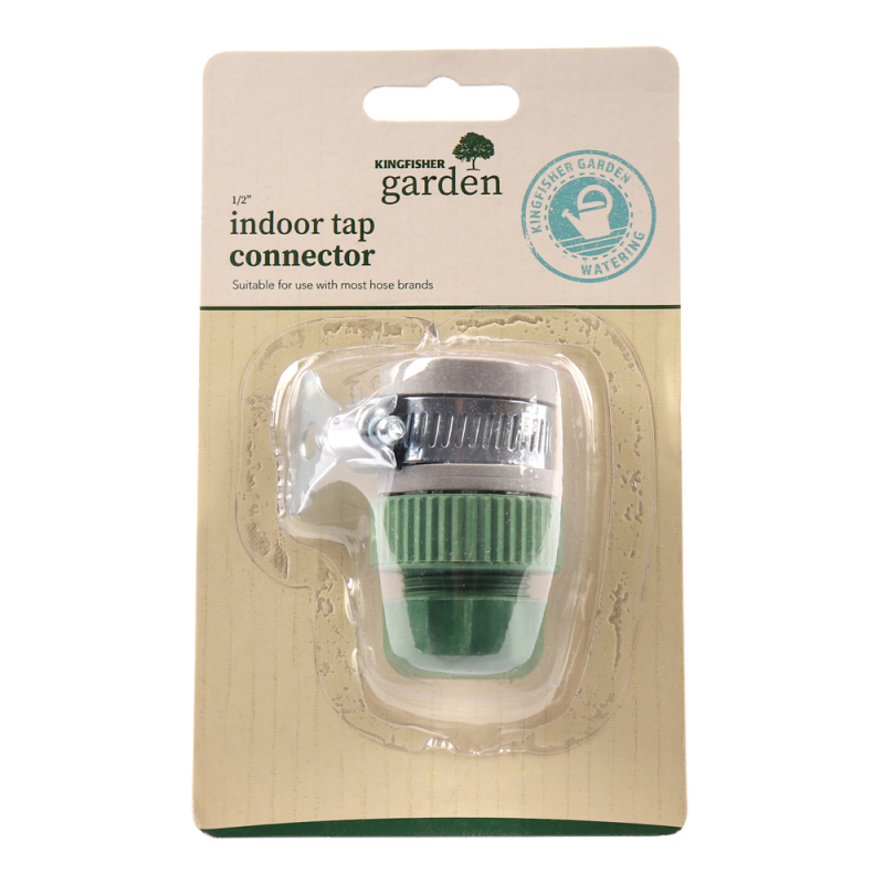 Kingfisher Universal Indoor Half-Inch Hose Tap Connector by  Direct Savings Online