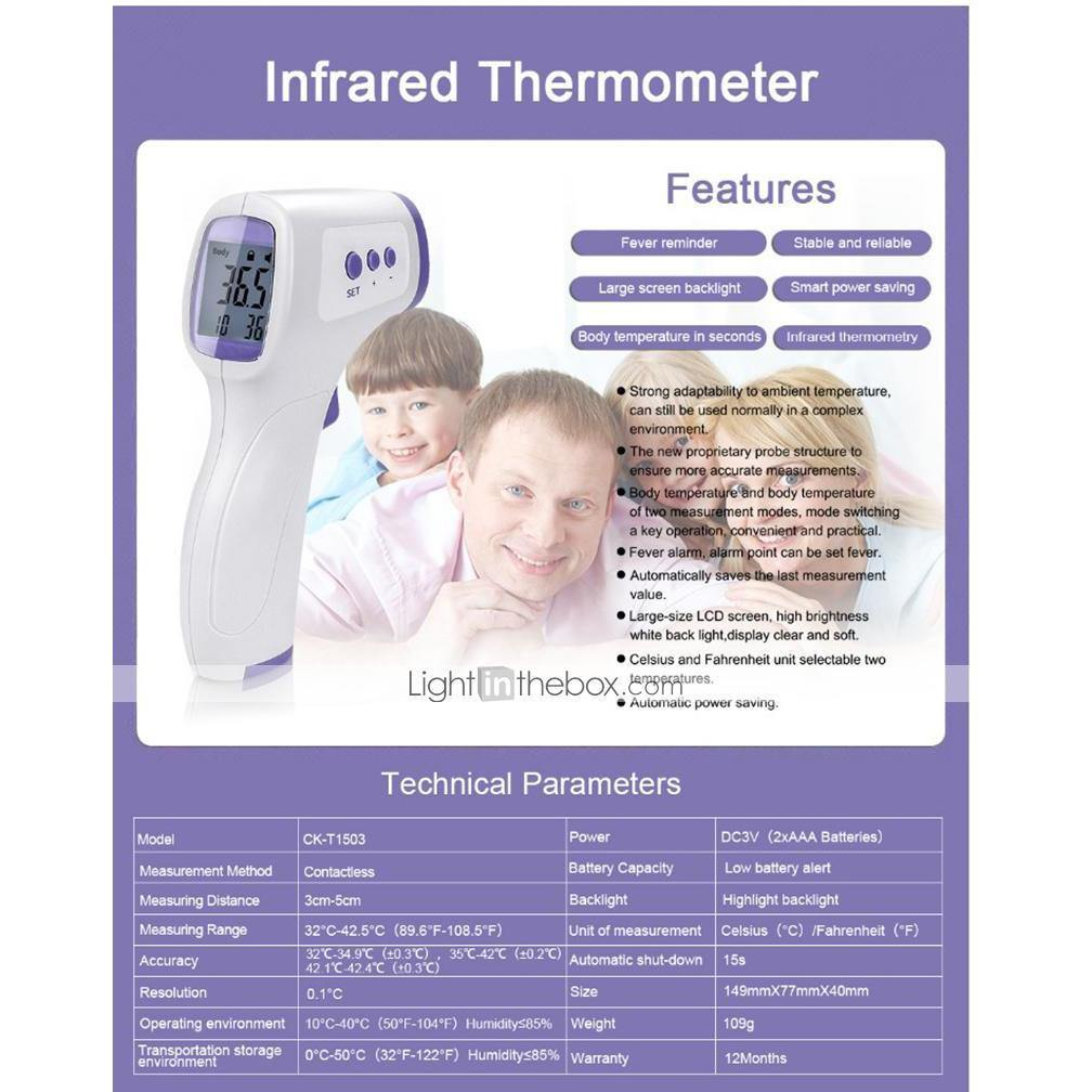 Infrared Thermometer Temperature Gun by  Direct Savings Online