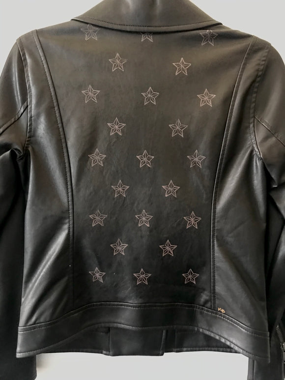 Stars Small - Leather